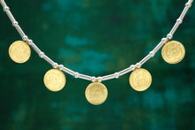 Load image into Gallery viewer, Golden Wheat Penny Amulet Necklace