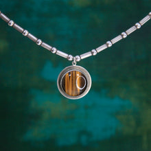 Load image into Gallery viewer, Tiger's Eye Amulet Necklace