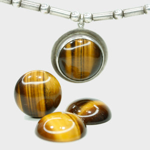 Tiger's Eye Amulet Necklace