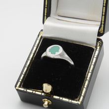 Load image into Gallery viewer, Turquoise Signet Ring