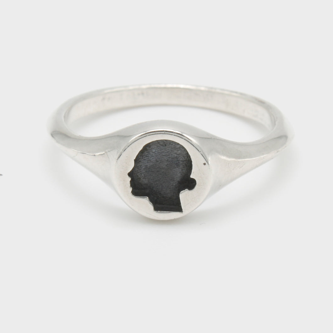 Silhouette Signet Ring