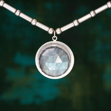 Load image into Gallery viewer, Labradorite Amulet Necklace