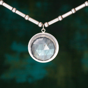 Labradorite Amulet Necklace