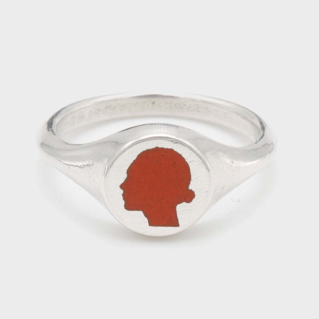 Vermillion Signet Ring