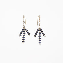 Lapis Tripod Earrings