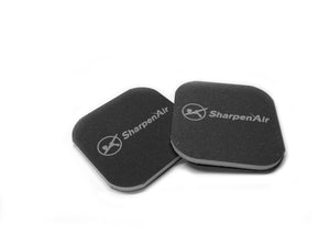 SharpenAir™ Logo Polishing Pads - 2 Pack