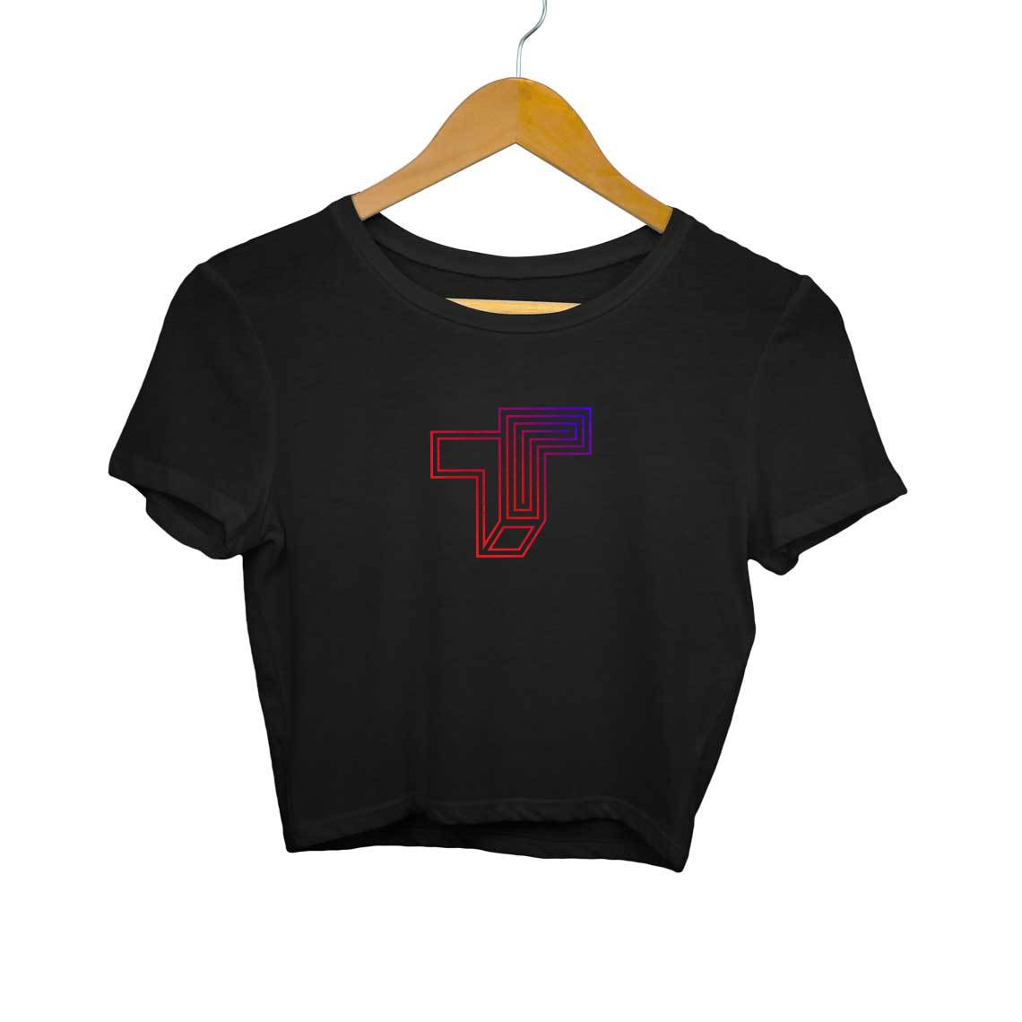 TrueTech Gradient Logo Women's Crop Top