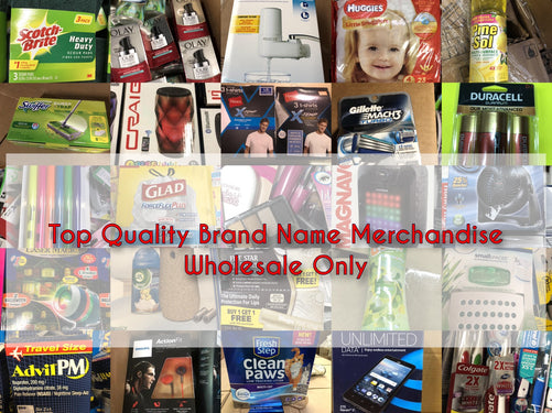 Discounts in Bulk! Top Quality Brand Name Merchandise. Wholesale Store