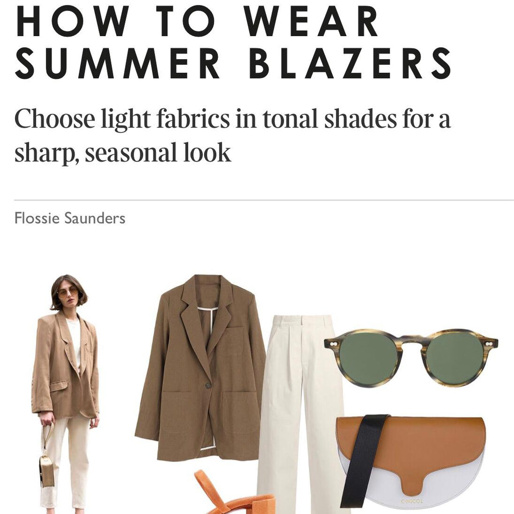 Sunday Times Style Equation | Lily Saddle Bag