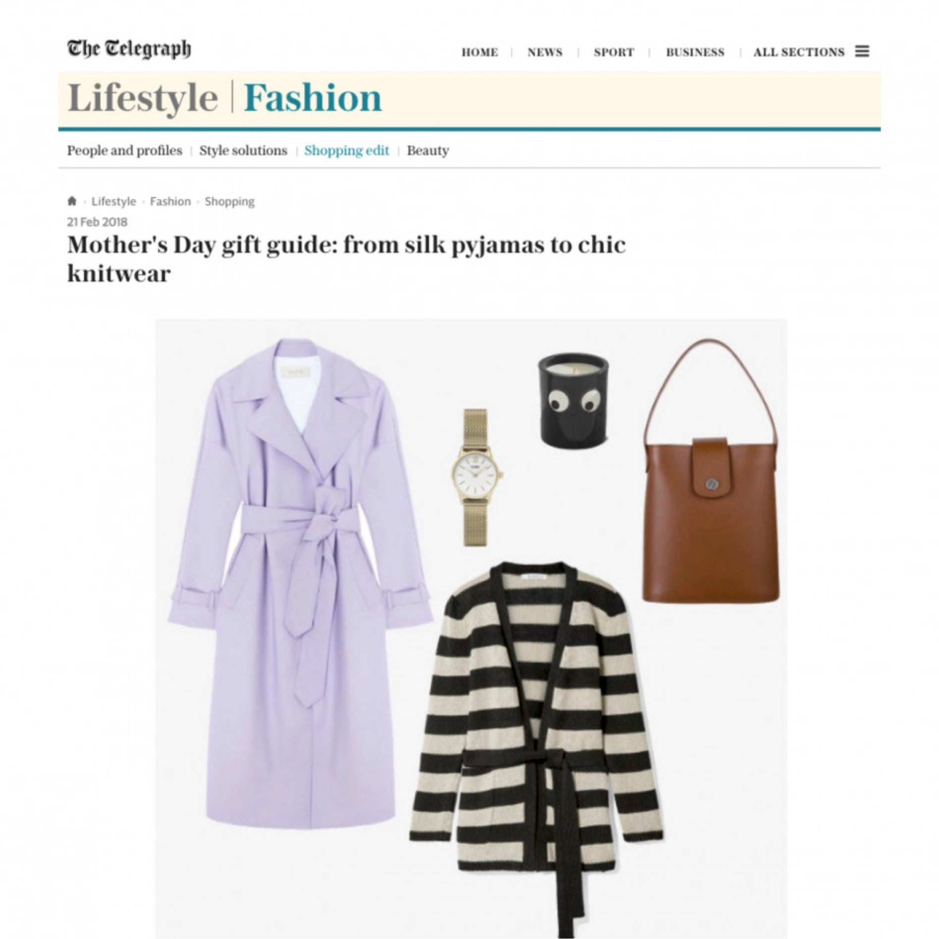 The Telegraph | Holly Mini Bucket Bag