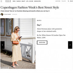 C.Nicol Elle Magazine Copenhagen Fashion Week