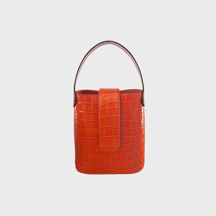 Holly mini bucket - Tangerine