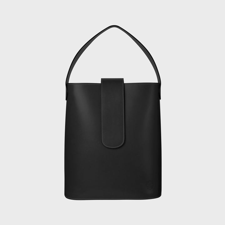 Holly maxi bucket - Blackbird (matte)