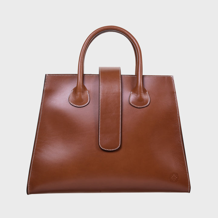 Rosa tote - Perfect tan