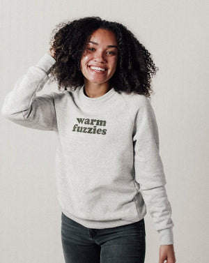 Load image into Gallery viewer, Warm Fuzzies Unisex Sweatshirt