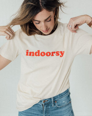 Load image into Gallery viewer, Indoorsy Unisex Tee