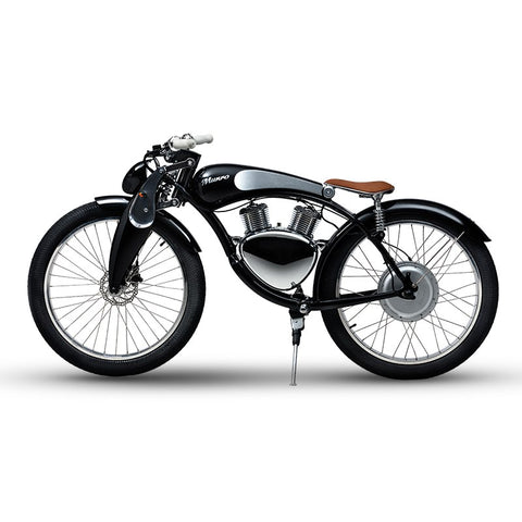 "Munro 2.0 26"" Electric Motorbike / 48V Lithium Battery / 500W Power! With GPS!! - LoveThatBike"