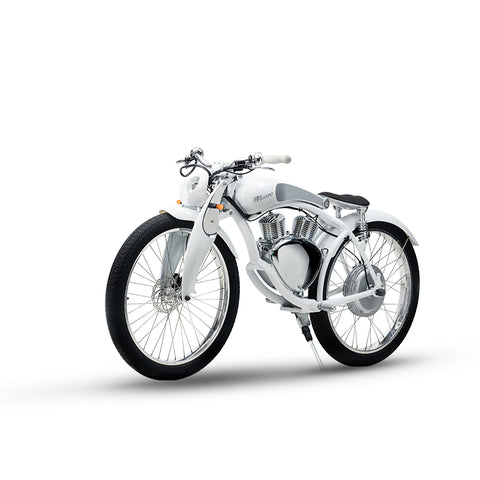 "COOL! Munro 2.0 Luxury Electric Motorcycle / 26"" 500W 48V Smart Battery / 60km Maximum battery life - LoveThatBike"