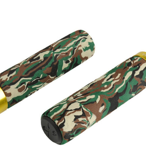 Aluminium Alloy Bilateral Locked Mountain Bike Handlebar Grips/  Smooth Soft Rubber - LoveThatBike