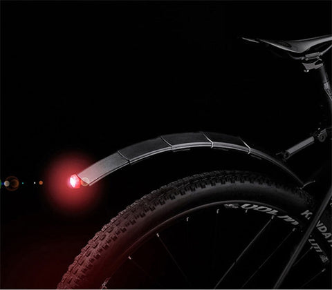 Mountain Bike Fender / Retractable Folding / With Light - LoveThatBike
