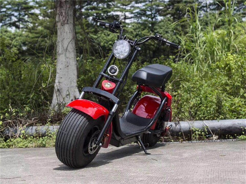 Latest Electric Harley-style Electric Scooter H6 - LoveThatBike