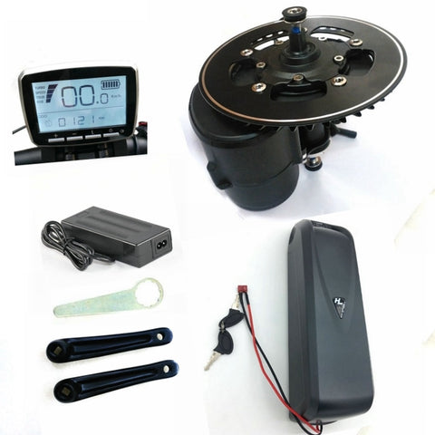 NEW Tongsheng TSDZ2 Electric Mid Drive Motor Kit / Torque Sensor 36V/250W with Battery 36V/12Ah - LoveThatBike