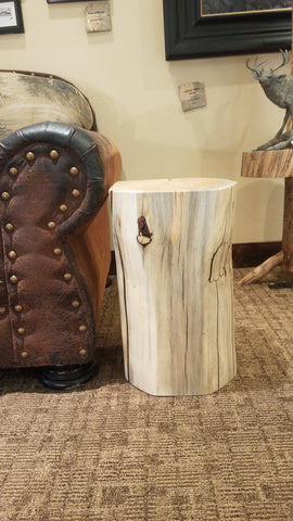 Square Wood Side Tables