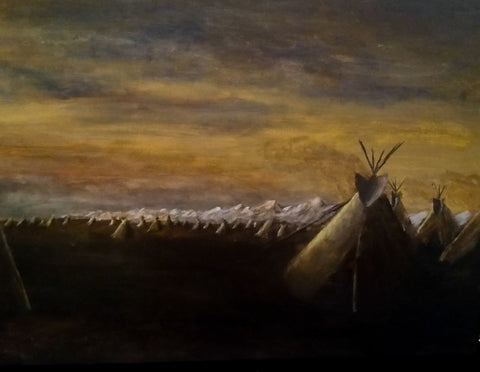 Teepees on the Prairie