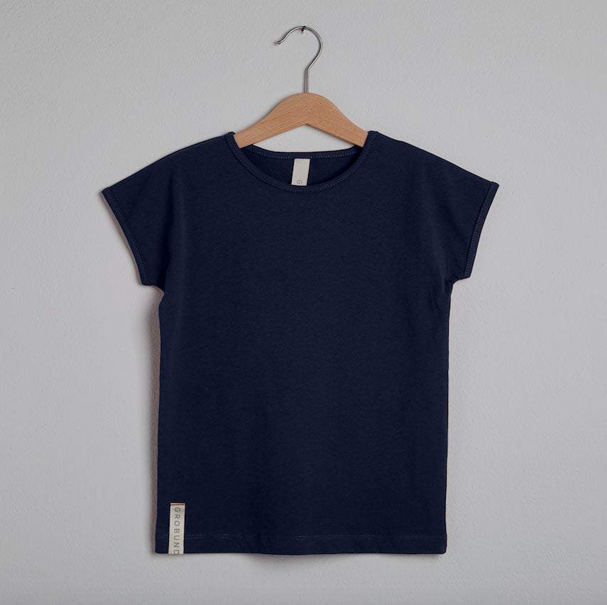 Grobund Mini, T-shirt, Alma, Navy
