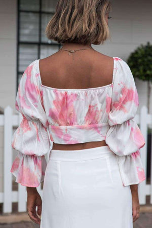 Off The Shoulder Daisy Top - Top