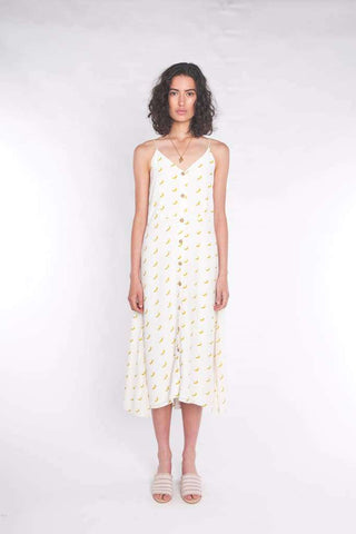 The Accalia Maxi Dress Sun Yellow