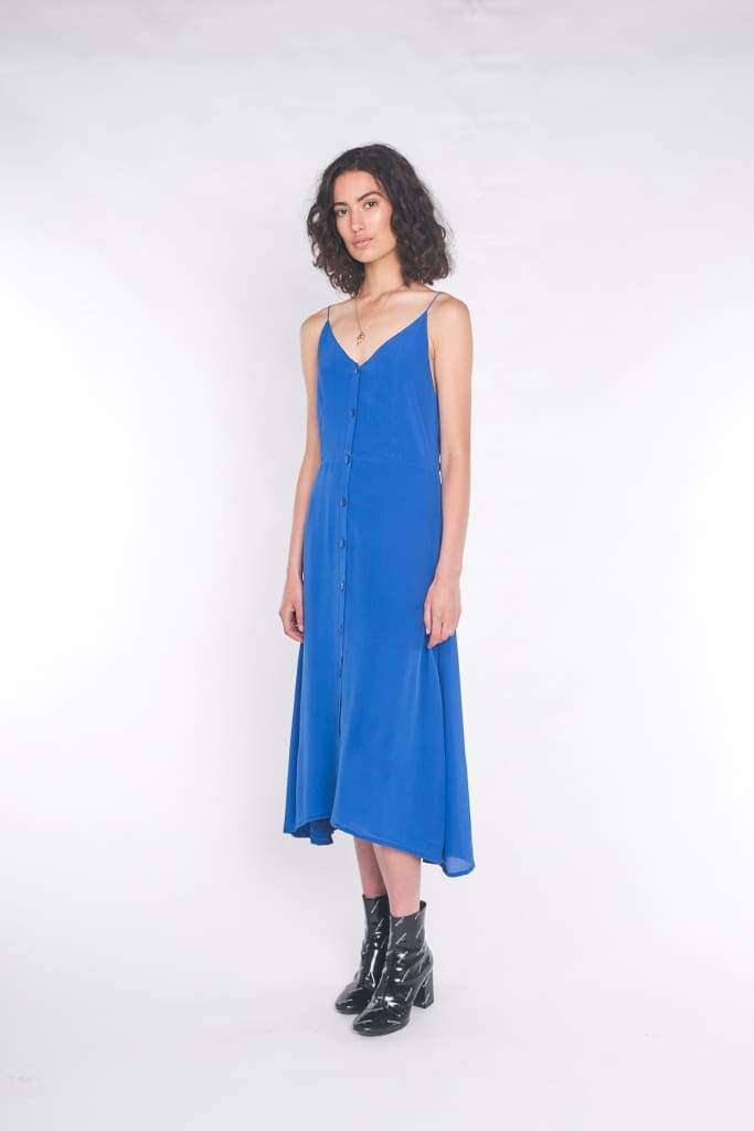 The Accalia Maxi Dress Cobalt Blue - Dress