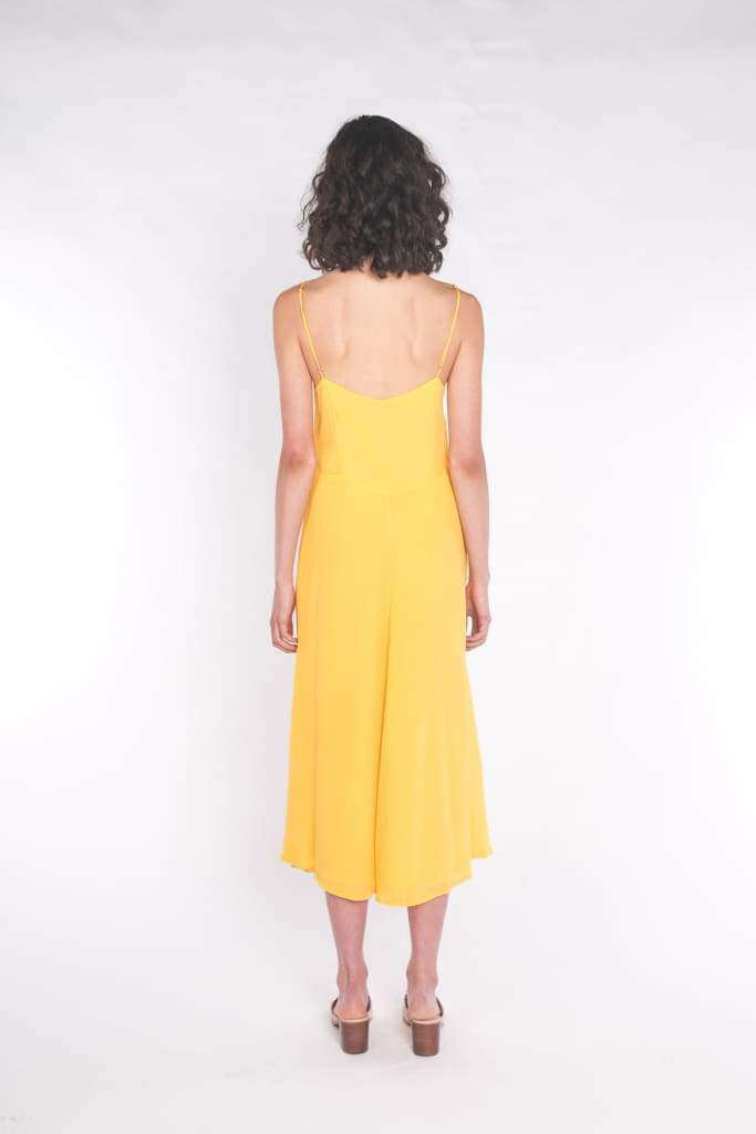 The Accalia Maxi Dress Sun Yellow - Dress