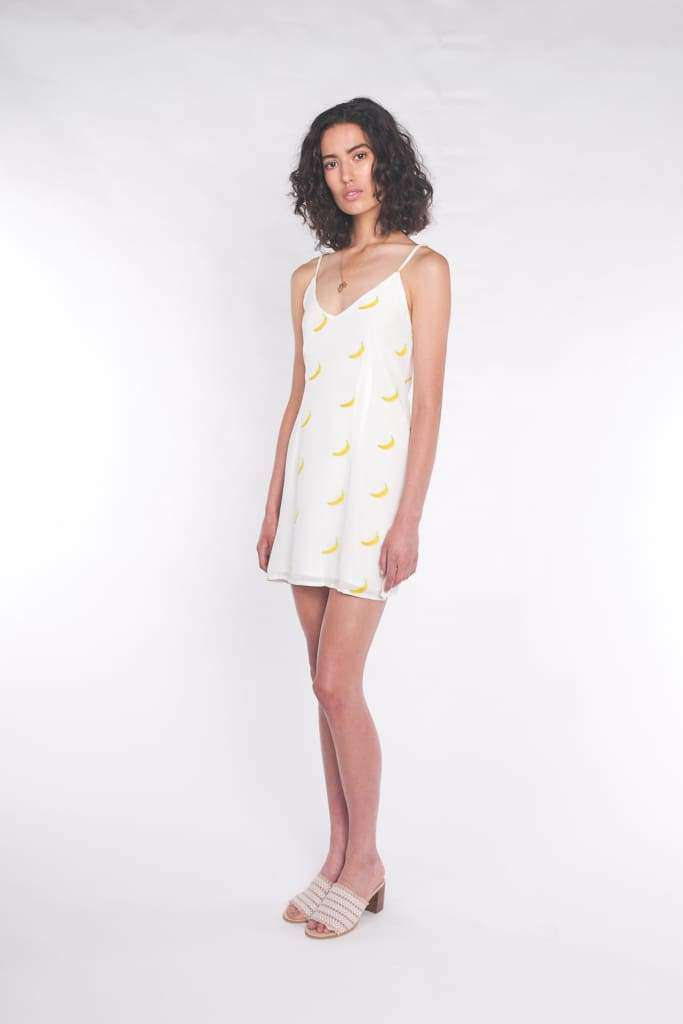 The Elle Mini Dress Banana Split - Dress