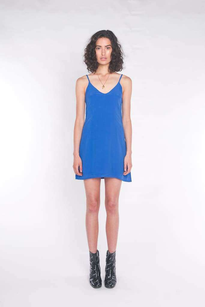The Elle Mini Dress Cobalt Blue - Dress