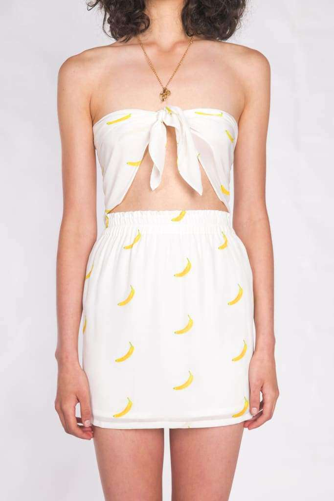 The Lady Scarf Top Banana Split - Top