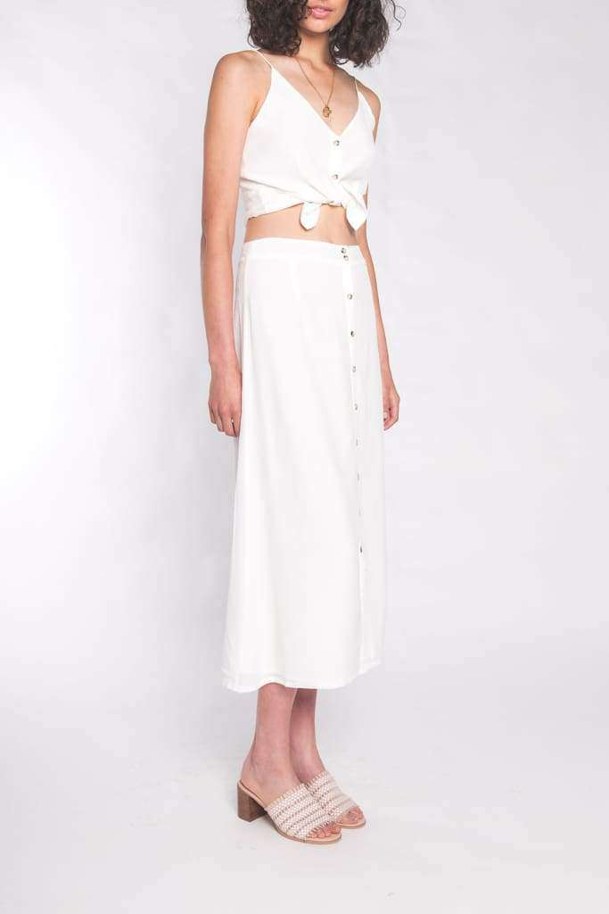 The Leela Cami Top Coconut Milk - Top