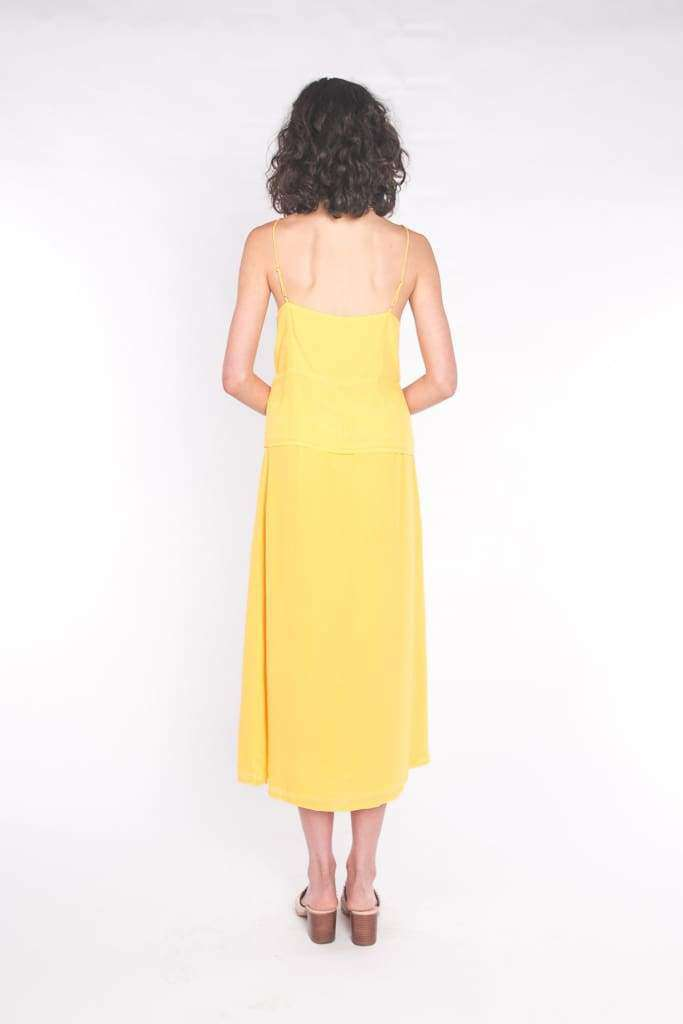 The Leela Cami Top Sun Yellow - Top