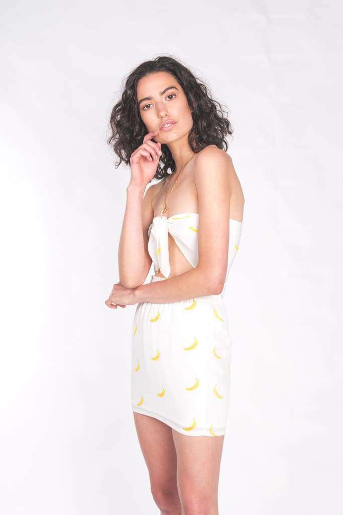 The Liv Mini Skirt Banana Split - Skirt