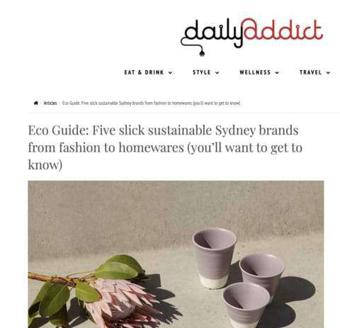 Eco Guide: Sydney Sustainable Brands by Daily Addict