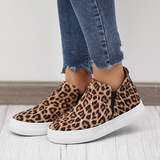 Flipmoda Women Leopard Casual Sneakers