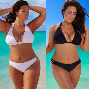 Sexy Bandage Bikini Set Plus Size | Be Sexy Everyday