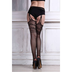 Sexy fishnet thigh high stockings | BeSexyEveryday #1 of lingerie brands
