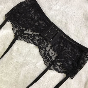 Sexy lace garter belt | BeSexyEveryday #1 of lingerie brands
