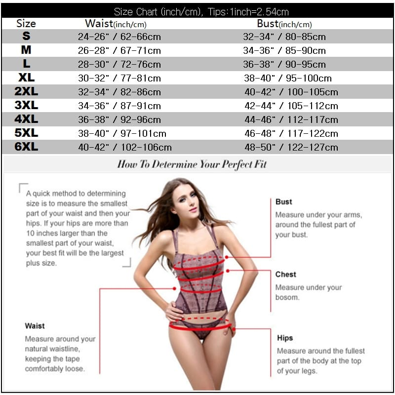 Universal Size-Overbust and Underbust