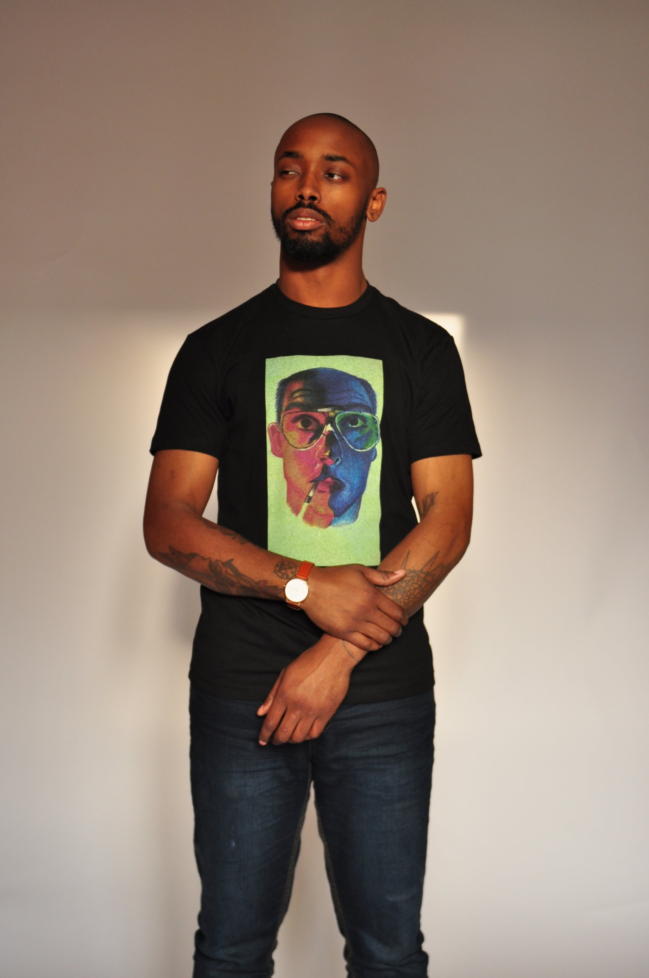 """GONZO"" MENS CREWNECK TEE - Soul Joiner"