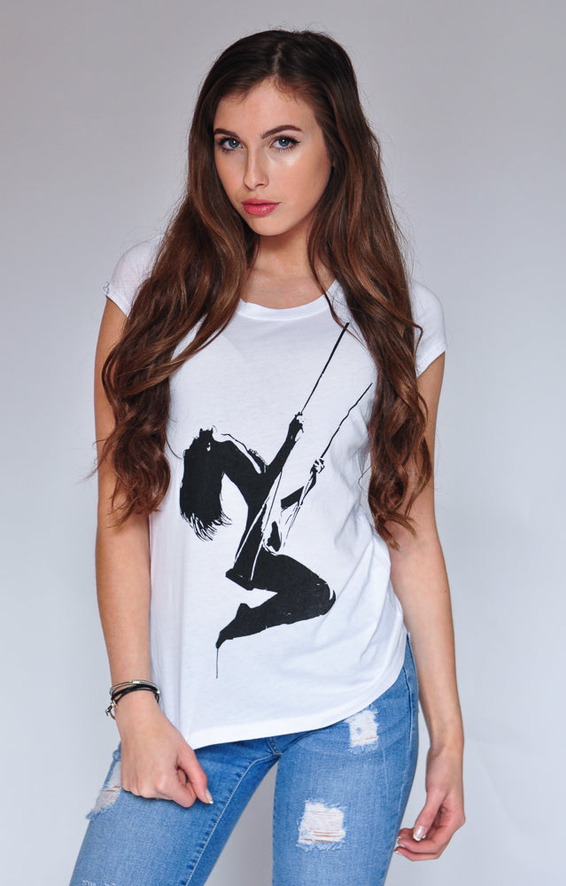 "WOMEN'S ""SWING"" CREWNECK TEE - Soul Joiner"