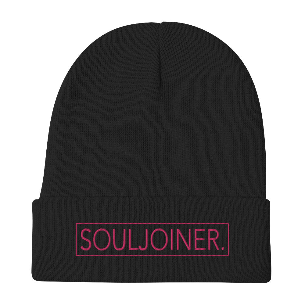 Women's SOULJOINER. Embroidered Beanie
