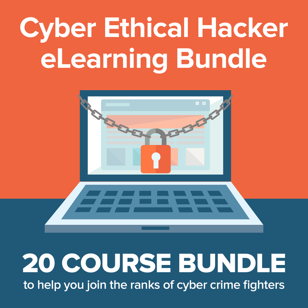 Cyber Ethical Hacker eLearning Bundle - Kiwi Courses