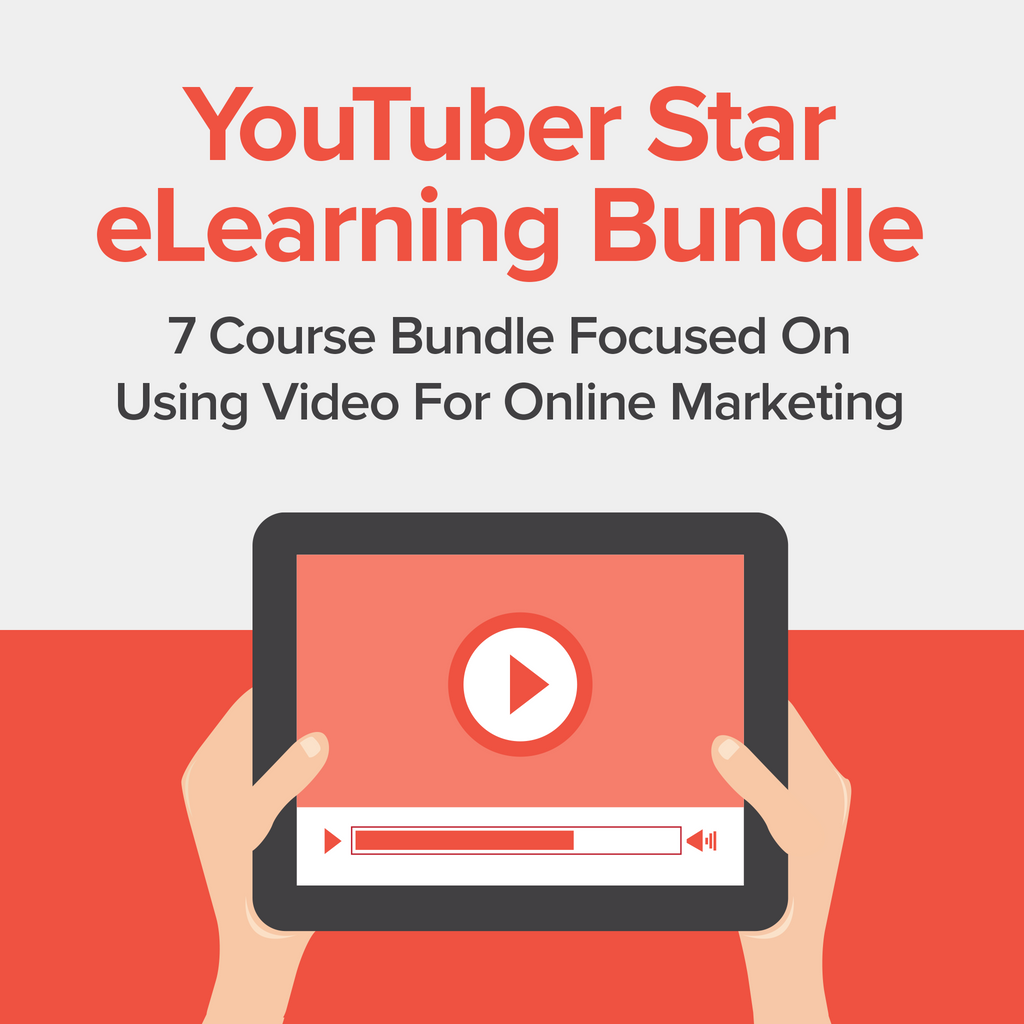 YouTuber Star eLearning Bundle - Kiwi Courses